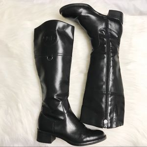 Etienne Aigner E-Chastity Black Riding Boots